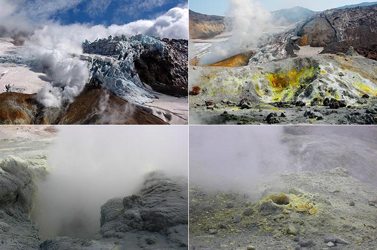 Действующий Мутновский вулкан