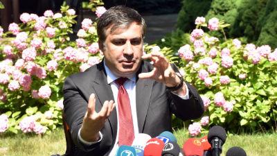 Саакашвили предложил полностью реформировать одесскую милицию