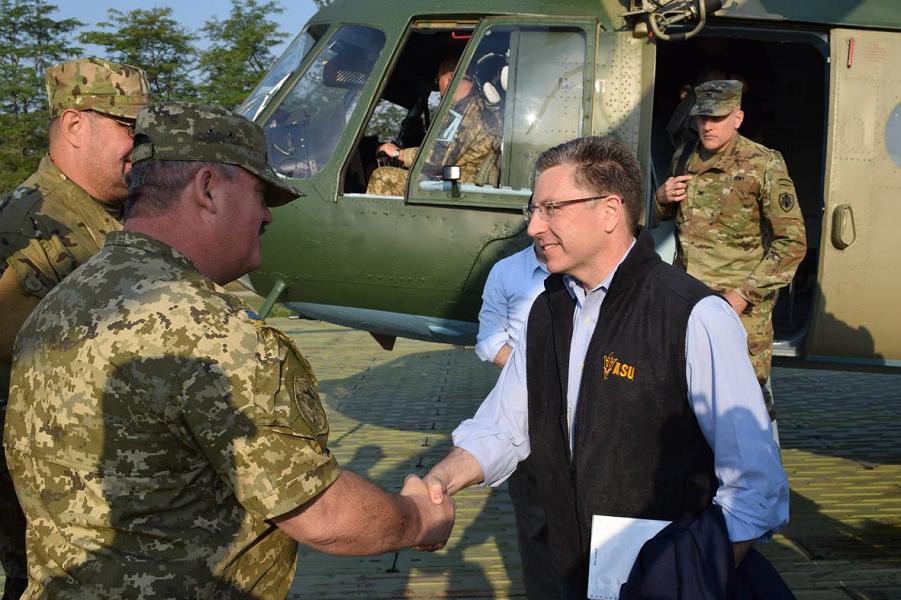 Спецпредставитель США Волкер за вооружение Украины. Против России, разумеется