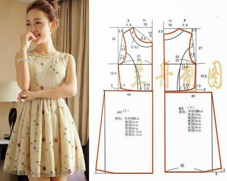 Летние платья выкройки модные