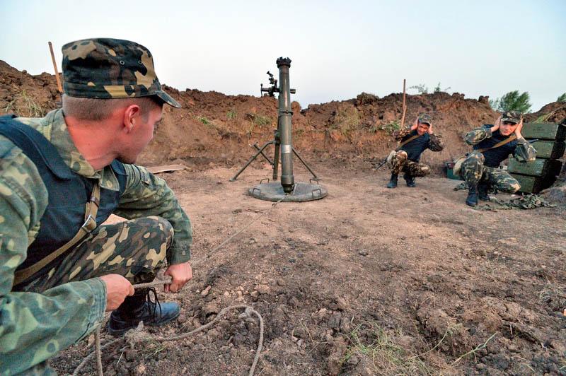Украинские боевики совершили «прощальный» обстрел ЛНР