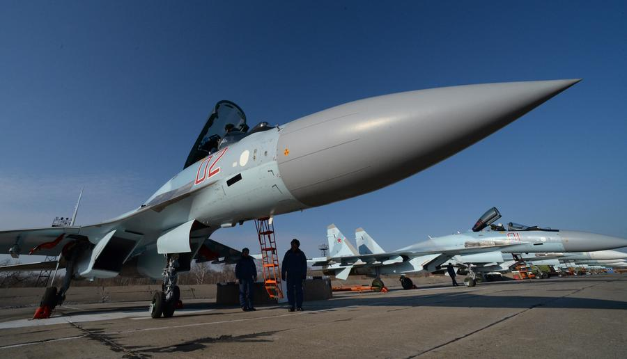 Россия впервые испытает новейшие Су-35С в боевых условиях в Сирии
