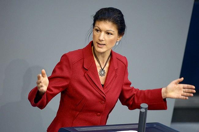 Вагенкнехт предложила ЕС ввести санкции против США и Британии
