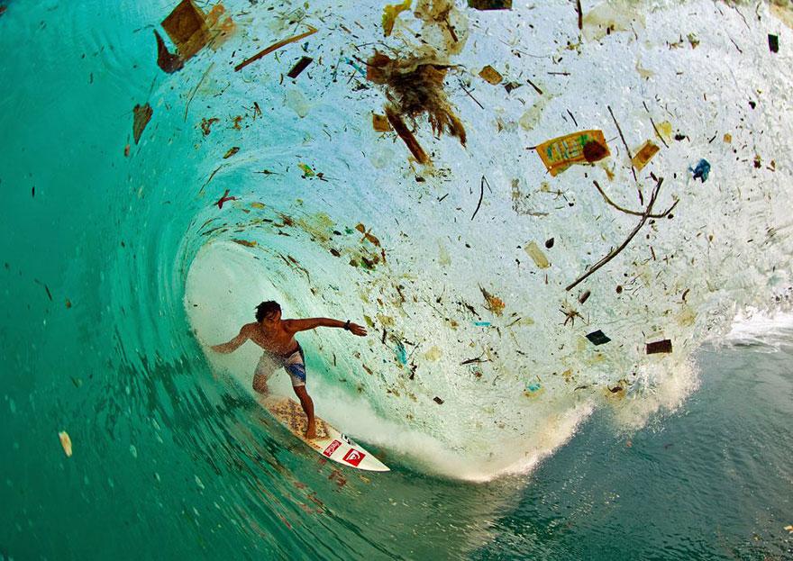Серия фотографий страдания Земли