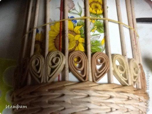 Мастер-класс Плетение Конфетница Трубочки бумажные фото 10