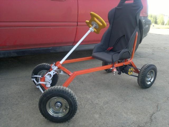 Как сделать электромобиль детский