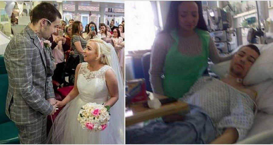 Свадьба обреченных: молодоженам осталось жить несколько недель