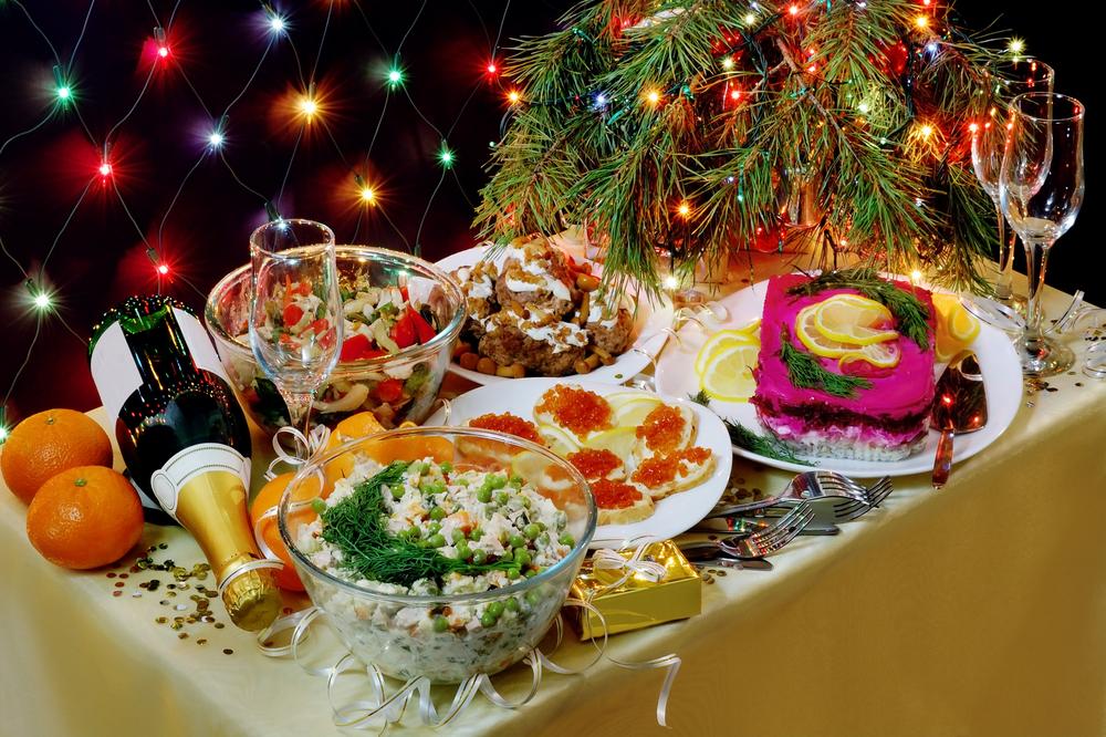 Приготовить еду на новый год
