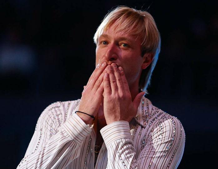 Плющенко сделал селфи с Путиным