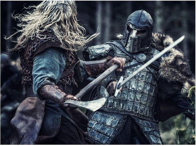 2. Берсерки викингов древний мир, спецназ