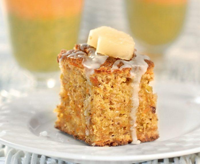 Супер десерт — Морковный кекс с грецкими орехами