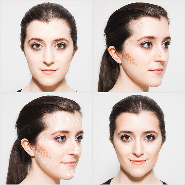 Как сделать чёткий овал лица