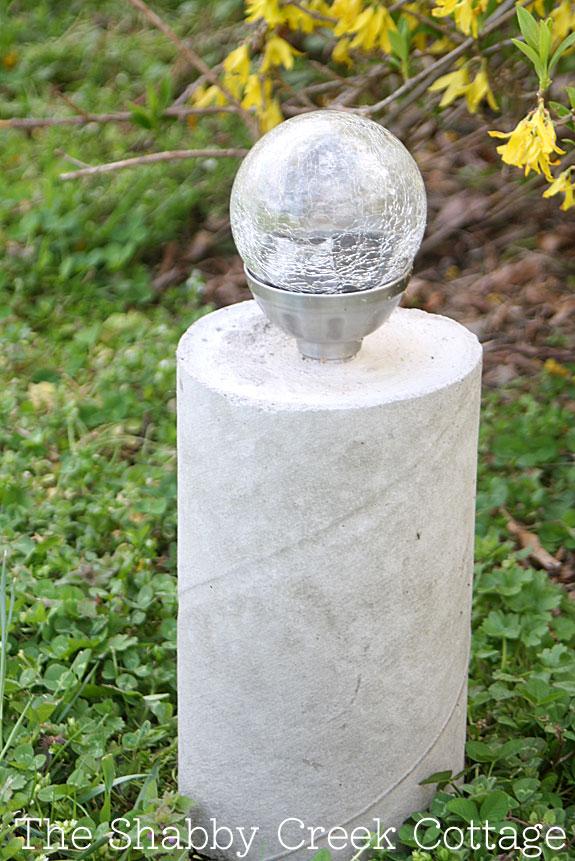 Фонари из бетона своими руками 379