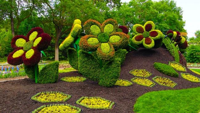 Впечатляющие работы мастеров садового дизайна