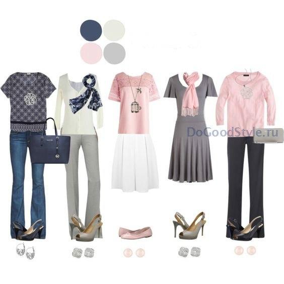 11 предметов одежды + 12 аксессуаров = 25 образов