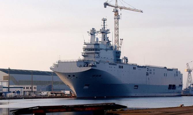 СМИ: Франция может затопить построенные для РФ «Мистрали» в случае отказа от их поставки
