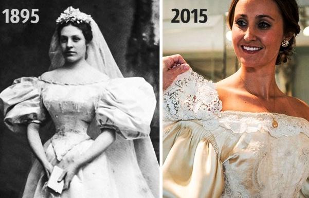 Платье этой невесты прошло через 10 семейных свадеб за 120 лет Вот это я понимаю, верность стилю!