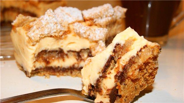 Очень вкусный, мягкий и нежный торт, с ярко выраженной лимонной ноткой и орехово-шоколадным послевкусием