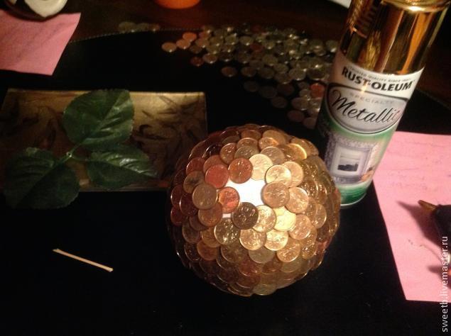 """Сувенир в подарок """"Золотое яблочко"""" своими руками"""