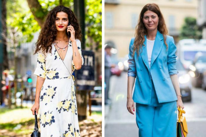 Как одеваются итальянки этим летом: 7 лучших образов с улиц Милана