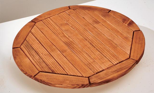 Деревянный круглый столик своими руками