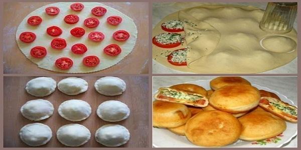 Тесто для пирожков с начинкой рецепт
