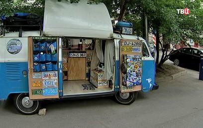 Жизнь на колёсах: болельщик из Аргентины приехал на ЧМ на машине