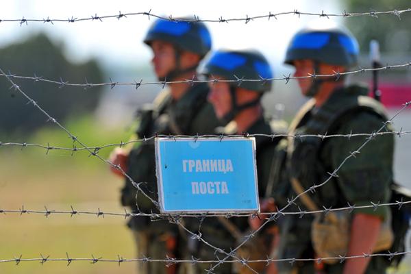 Российские войска в Приднестровском регионе Республики Молдавия