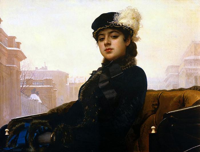 «Неизвестная» девушки, живопись, история, картины, портреты