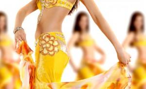 Простые танцевальные движения. Танец живота.
