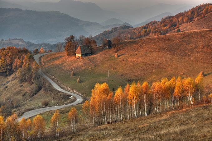 Румынская Трансильвания осенью