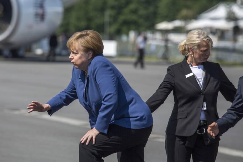 Суверенный саммит Меркель – Путин