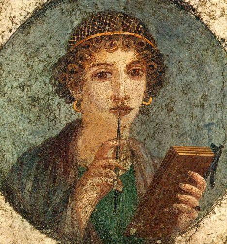 Древнегреческая поэтесса Сапфо-Сафо Митиленская