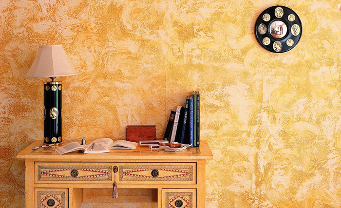 Как стильно покрасить стены без лишних трат, используя обычную губку, тряпку и веник