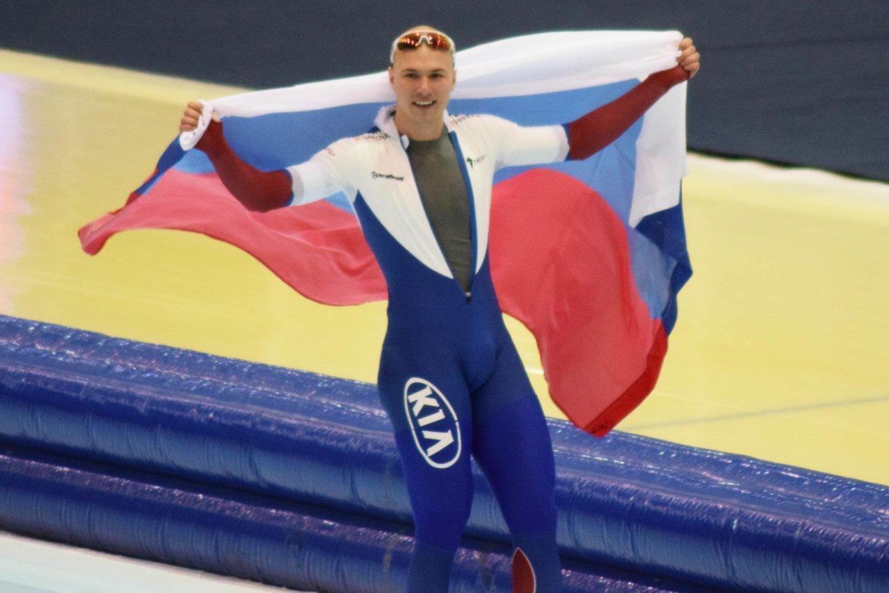 Конькобежец Кулижников установил новый мировой рекорд на КМ