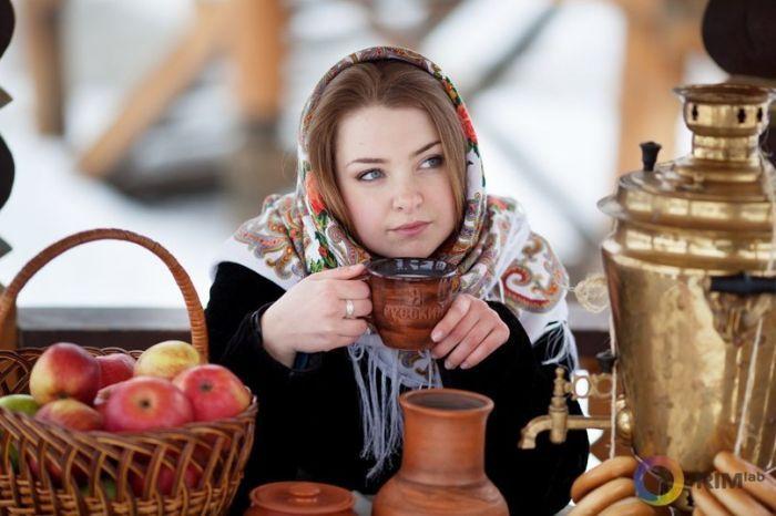 Красота по славянски девушки, красота, русь