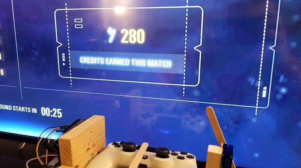 Игрок собрал робота для грин…