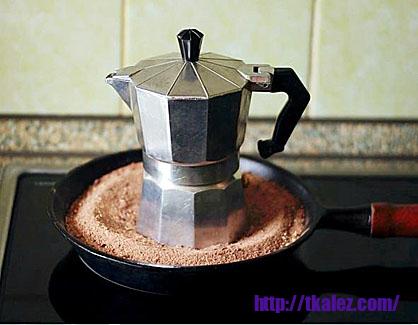 Все о кофе: Гейзерная кофеварка (кофеварка мока (моке))