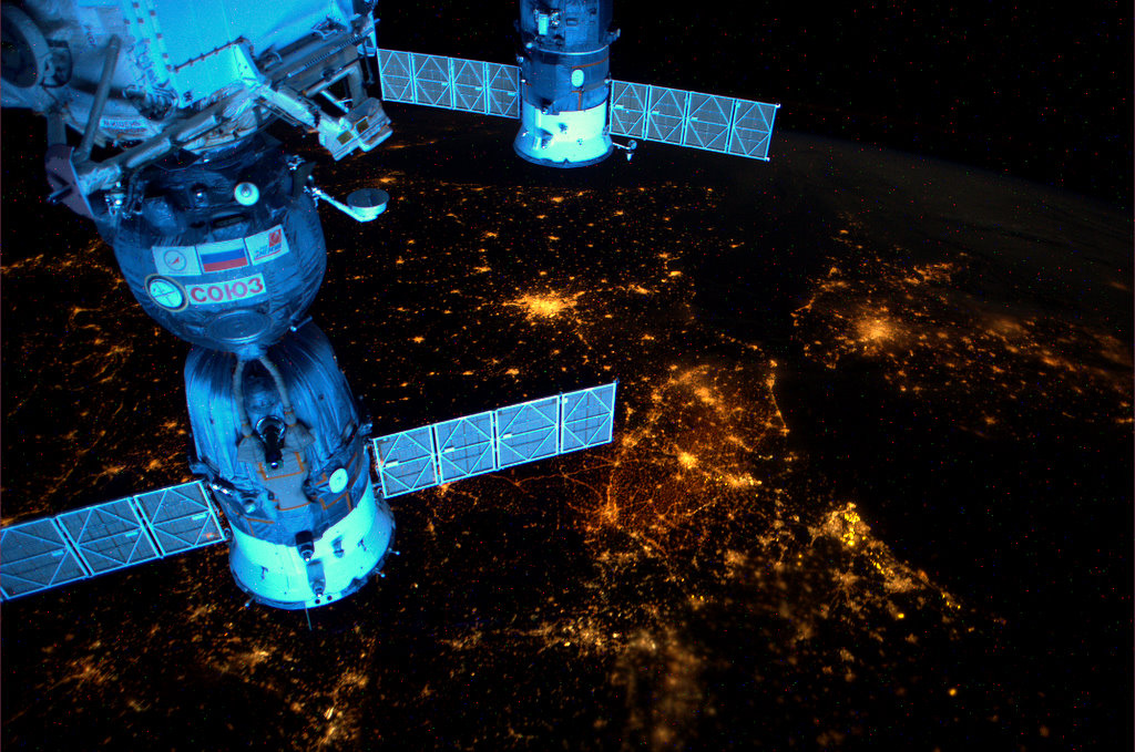 Amazing Space Photography 11 Космос от голландского астронавта Андре Киперса