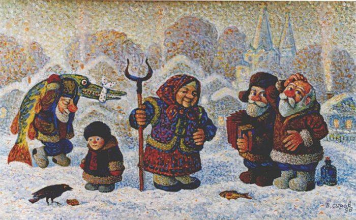 художник Валерий Сыров картины - 09
