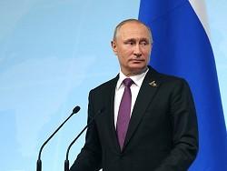 Владимир Путин показал себя …