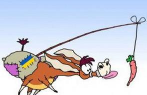 Украинский осёл и морковка Евросоюза