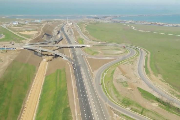 Автоподходы к Крымскому мост…