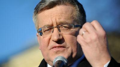 Президент Польши попал в ава…