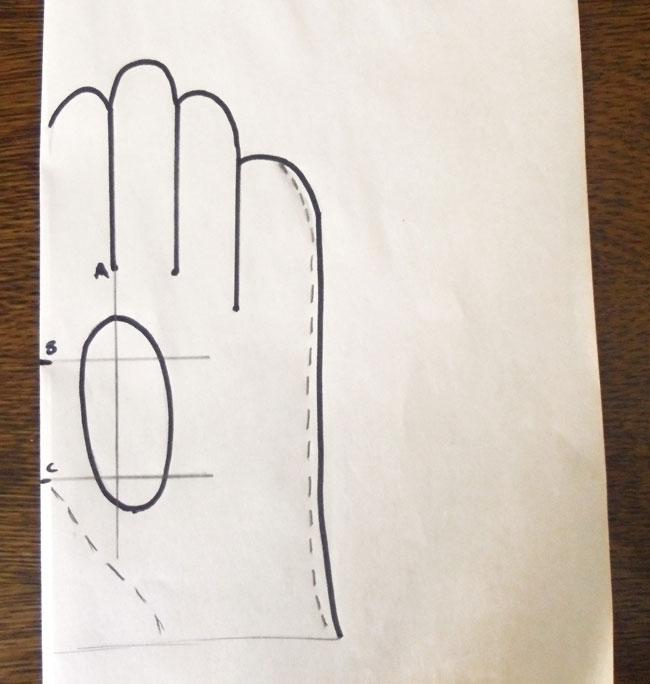 Длины перчатки своими руками 929