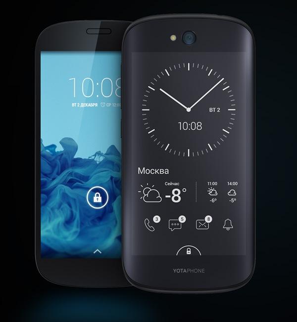 Новый российский смартфон YotaPhone 2 Original