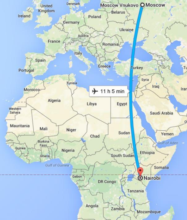 Отпуск в Африке, часть 1
