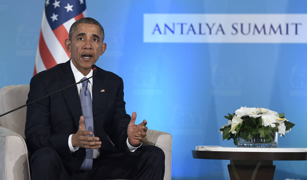 """Путин смеется над Обамой на саммите G20: """"он ребенок.."""""""