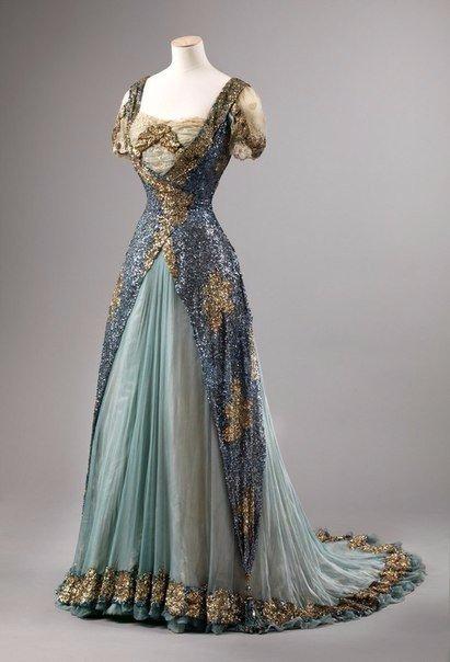 Бальное платье 1905 года