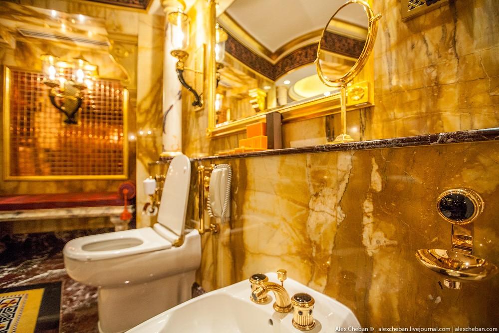 BurjAlArab37 Золото для шейхов и олигархов: самый дорогой номер в семизвездочном отеле Burj Al Arab